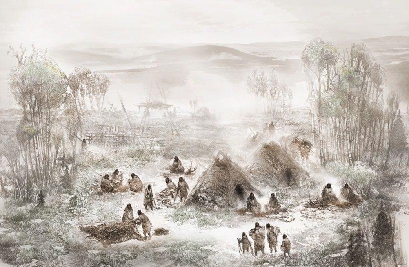 древние люди на Аляске