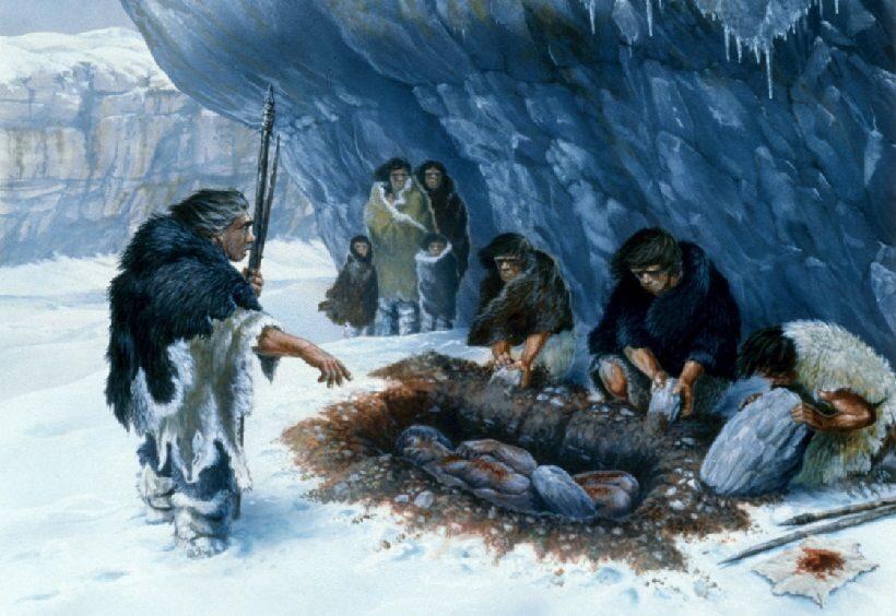 первые люди на Аляске