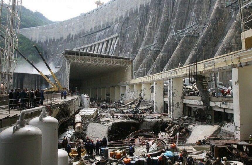 avariya sayano shushenskoy ges 2009 god 1 - Невероятная катастрофа на саяно шушенской гэс как это было на самом деле