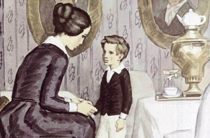 Картинки детство лев толстой