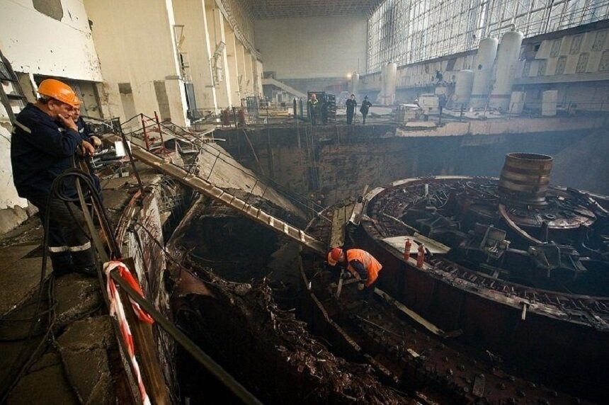 sayano shushenskaya ges posle avarii 1 - Невероятная катастрофа на саяно шушенской гэс как это было на самом деле