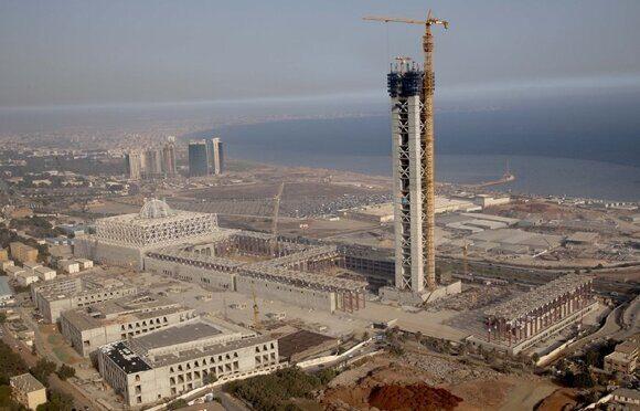 строительство в Алжире самой большой мечети в мире