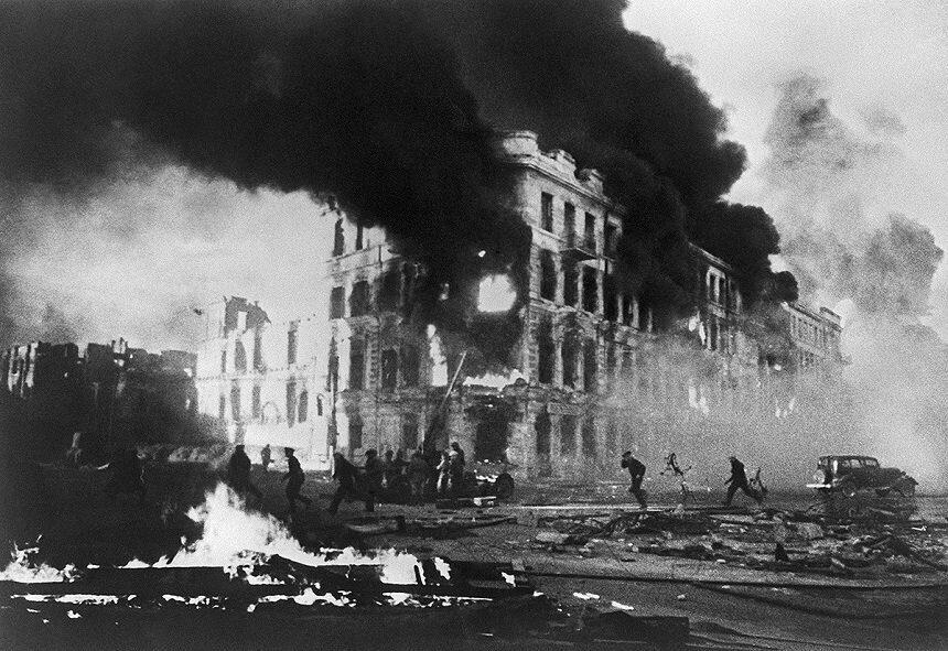 23 августа ковровая бомбардировка Сталинграда