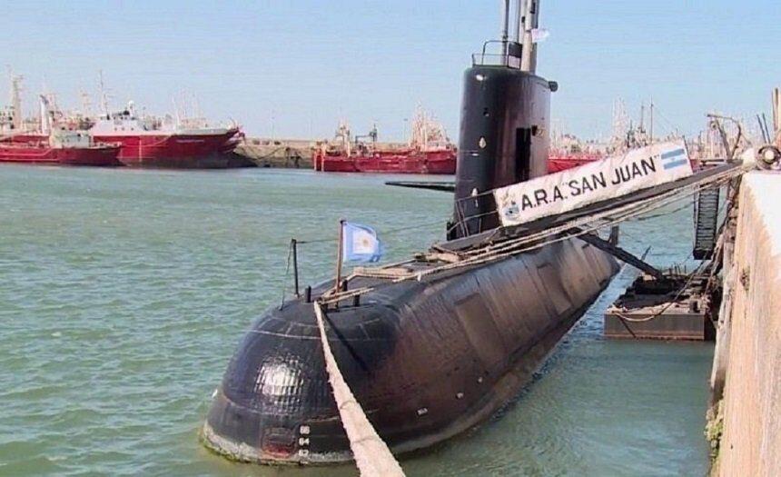 Исчезнувшая год назад подлодка San Juan