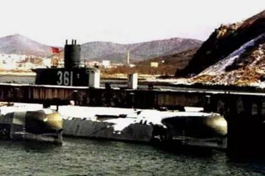 Китайская подводная лодка № 361