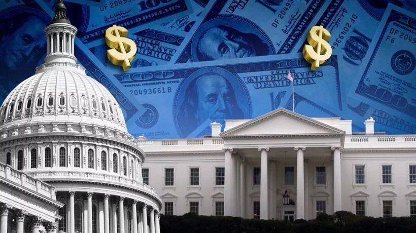 гос. долг США вырос до рекордных значений