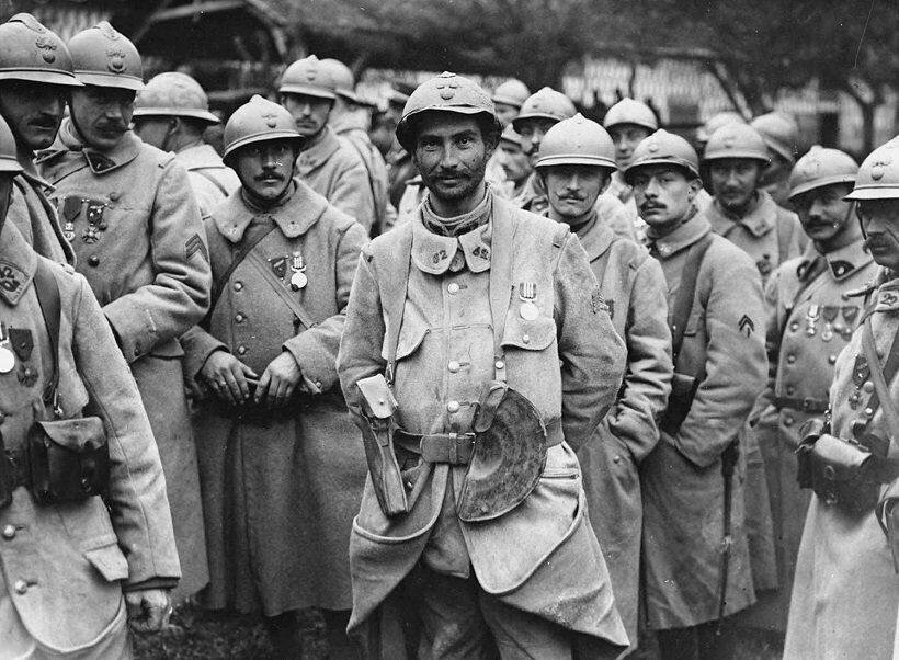 Первая мировая война французские войска
