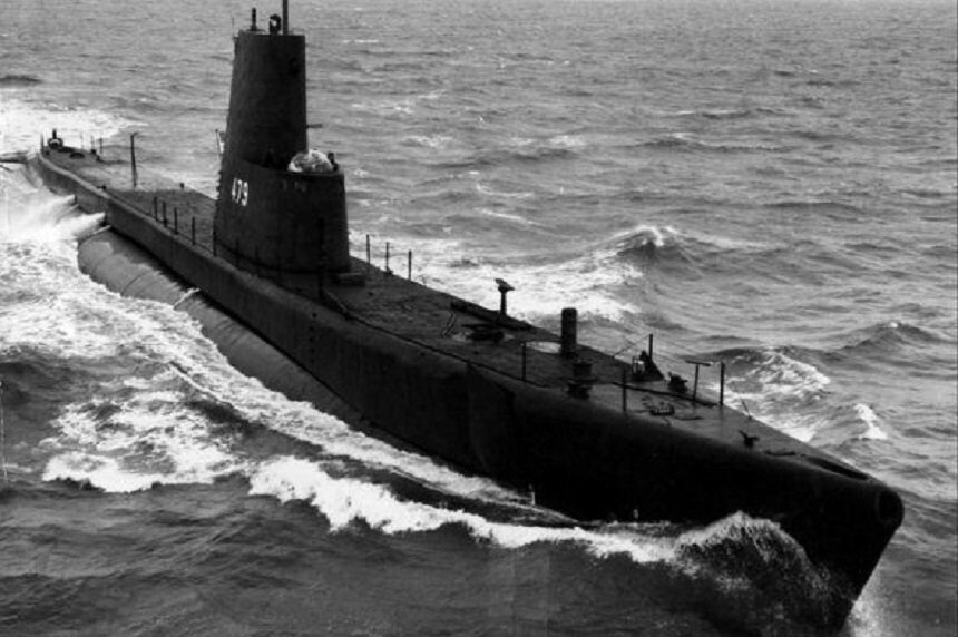 Пакистанская подводная лодка Гази