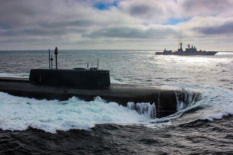 американцам не составляет труда находить наши подводные лодки