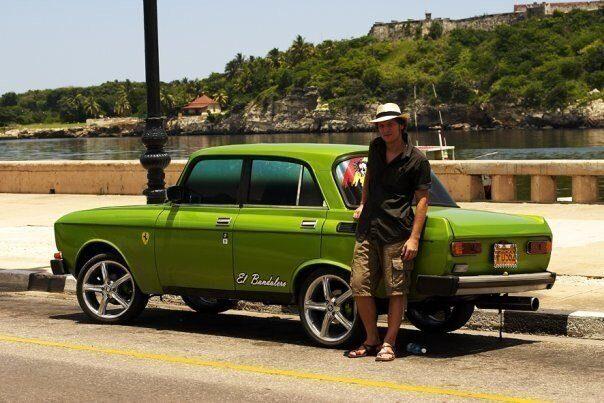отечественные автомобили на Кубе