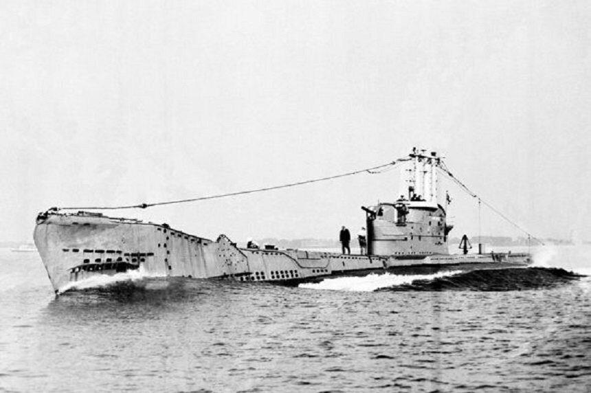 Британская дизельная подлодка HMS Affray