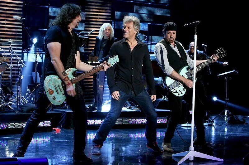 Американская рок-группа Bon Jovi