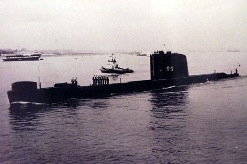 Израильская дизельная подводная лодка Дакар