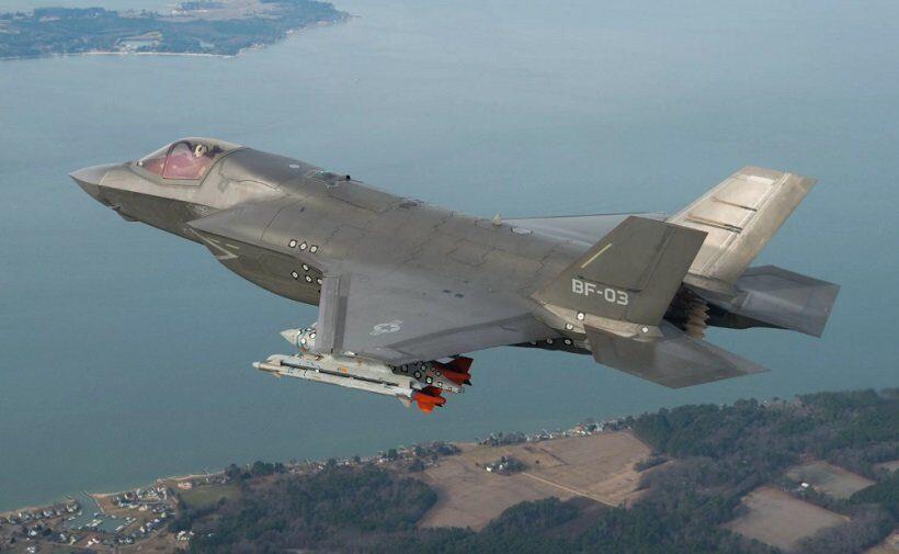 американский истребитель F-35B разбился в США
