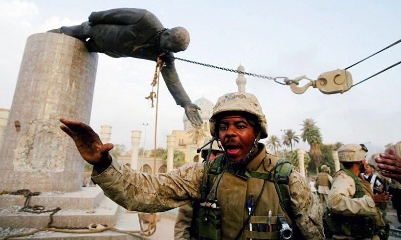 свержения американцами президента Ирака Саддама Хусейна