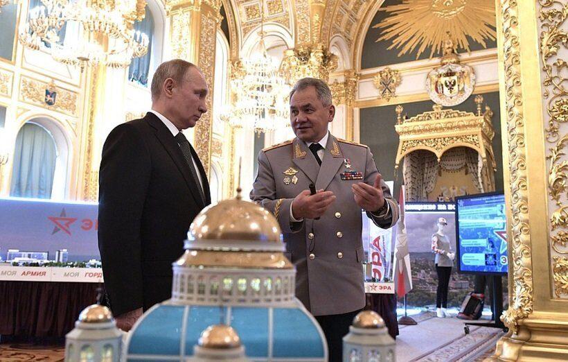 В парке Патриот построят главный храм Вооруженных сил России
