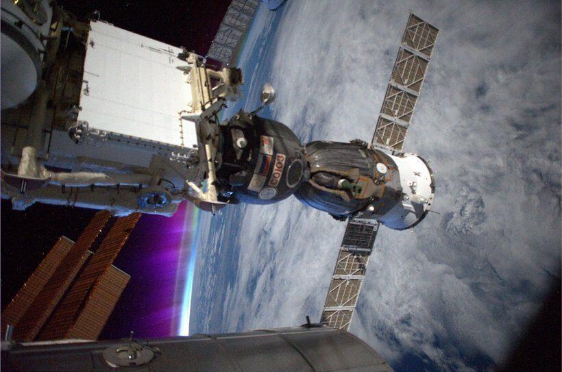 Специалисты заметили новые следы от сверла в обшивке корабля Союз МС-09