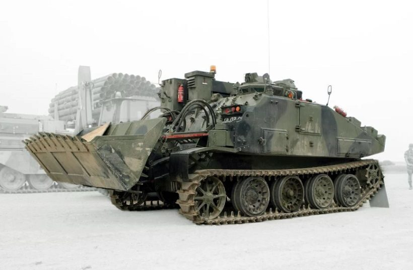 Combat Engineer Tractor FV 180