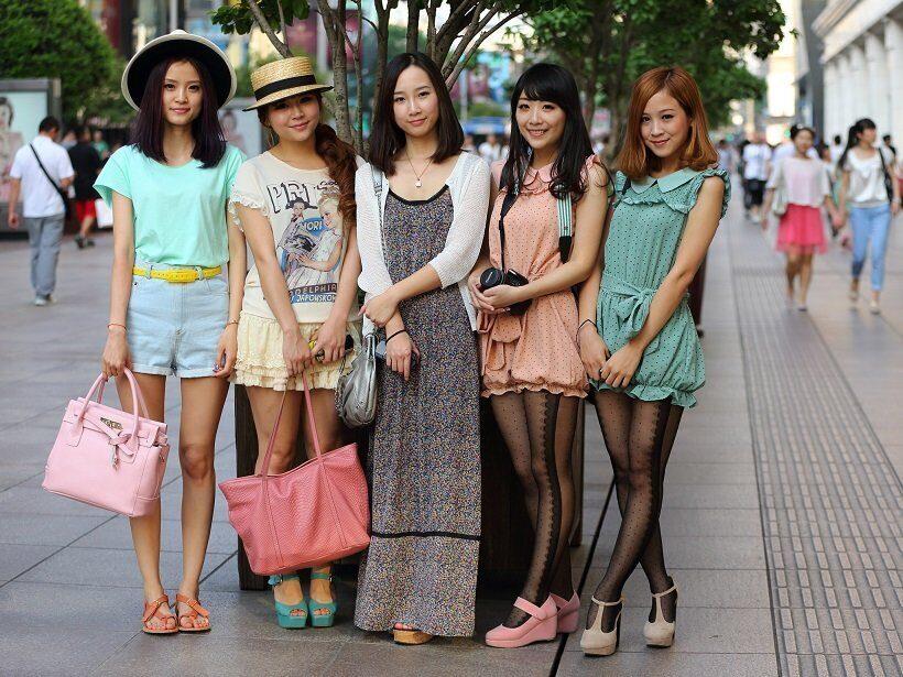 в Китае набирают популярность сервисы по совместному пользованию одеждой