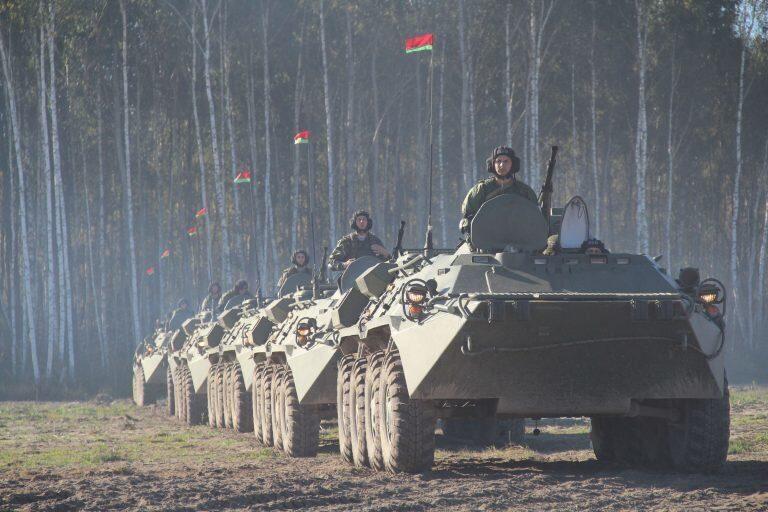 Совместные тактические учения сил специальных операций ВС Белоруссии и ВДВ России стартовали в субботу на полигоне Брестский