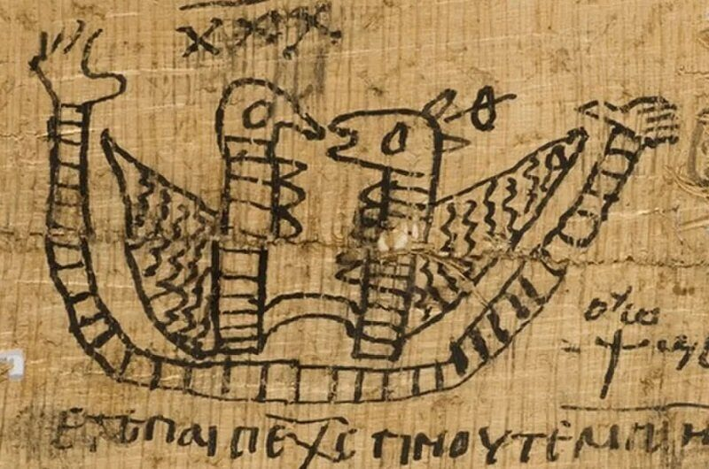 В египетском папирусе были зашифрованы любовные заклинания