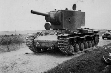 тяжелый советский танк КВ-2
