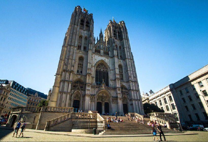 кафедральный собор Брюсселя Сен-Мишель-э-Гюдюль