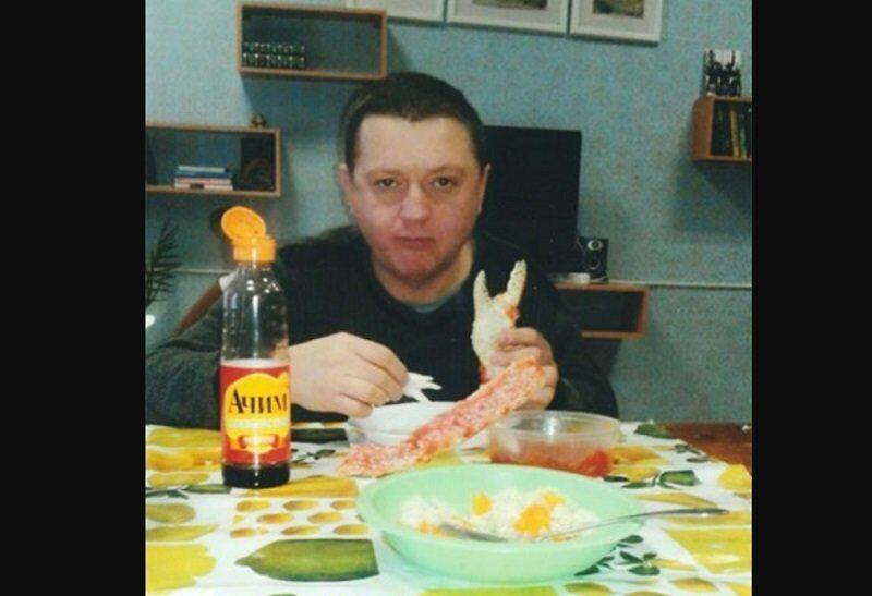Член банды цапков обедал в колонии красной икрой и крабами