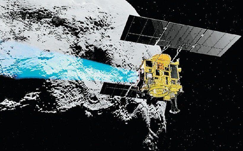 Японский зонд отправил к астероиду Рюгу еще одного робота-исследователя