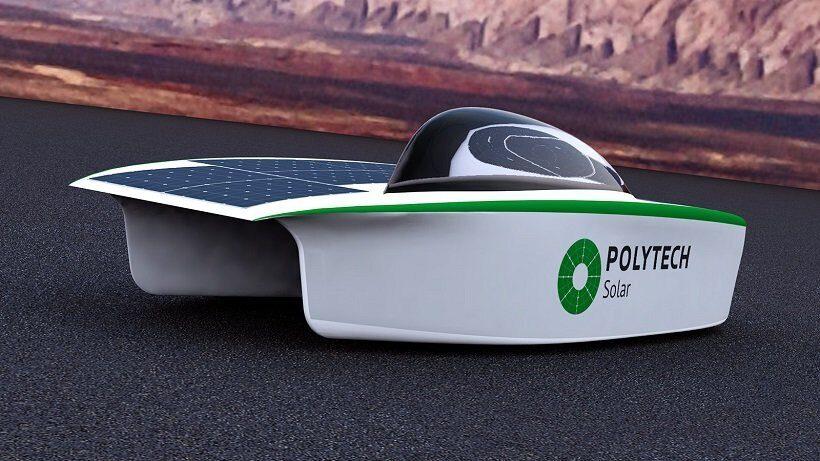 первый российский солнцемобиль SOL