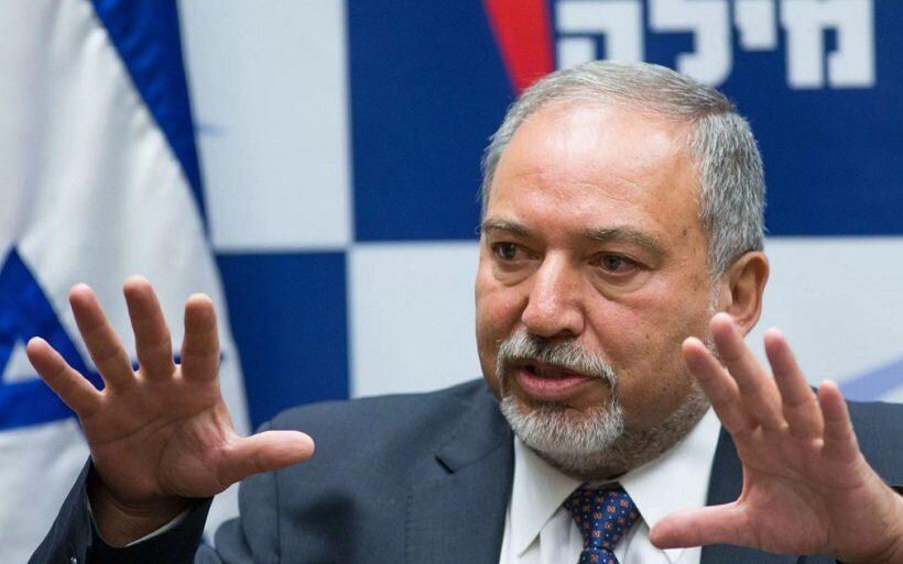 израильский министр обороны Авигдор Либерман