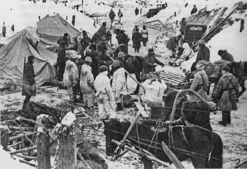 первый прорыв в Ленинград