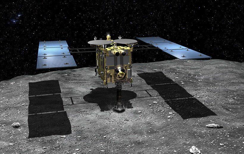 Японский зонд Хаябуса-2