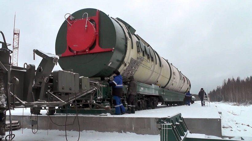 ракета Сармат испытания