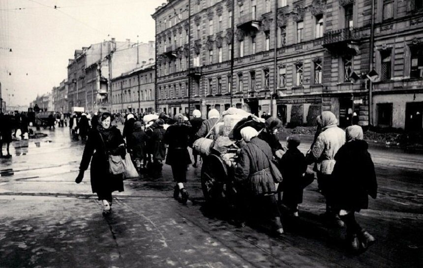 эвакуация из блокадного Ленинграда