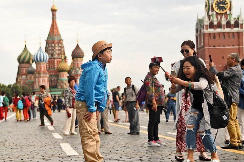 Россия в 2018 г. заняла второе место в мире по количеству проданных турпутевок