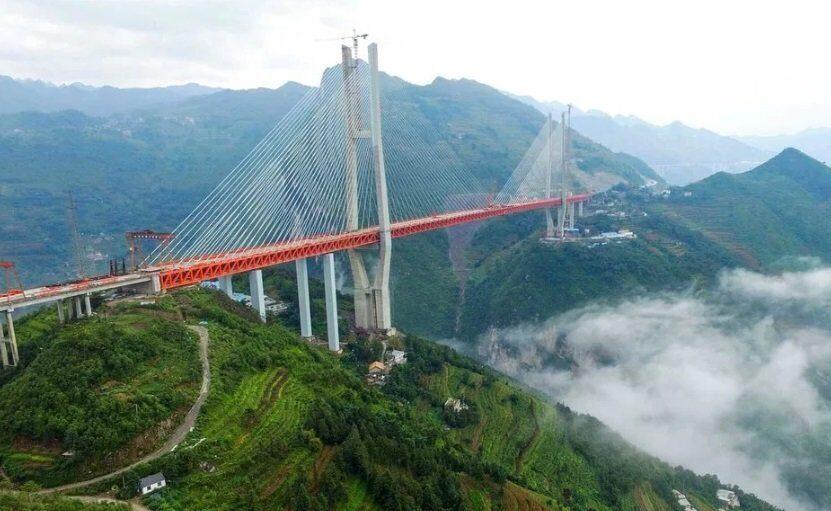 Китайский мост Бэйпаньцзян