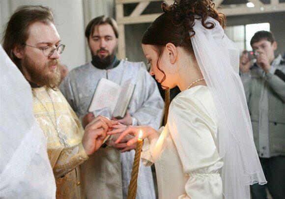 Второй брак для священников неприемлем для РПЦ