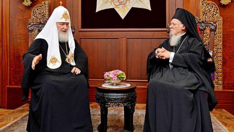 Патриарх Кирилл, наконец-то ответил на упреки верующих, считающих, что глава РПЦ зря ездит в Константинополь к Вселенскому патриарху Варфоломею