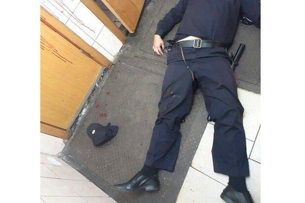 убийство полицейского