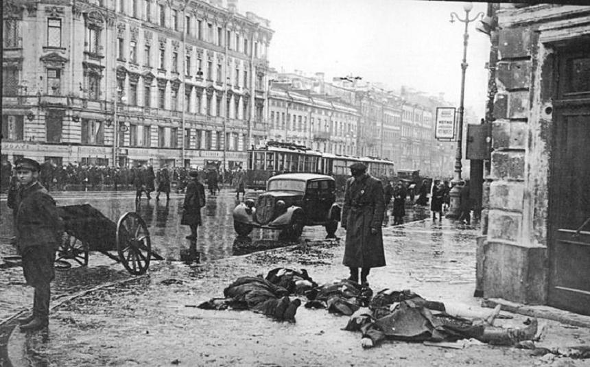 смертность в блокадном Ленинграде