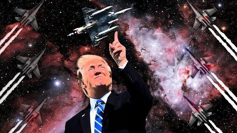 Трамп намерен создать космические силы США