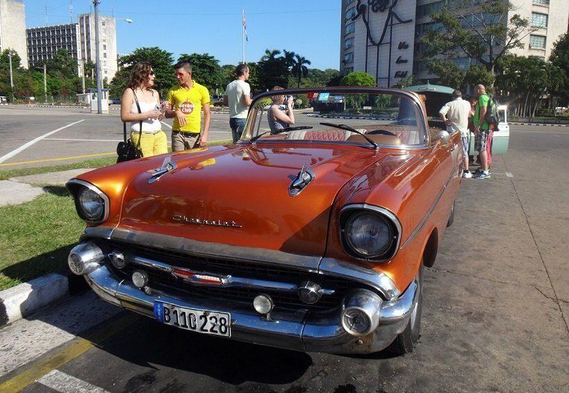 редкие авто на Кубе