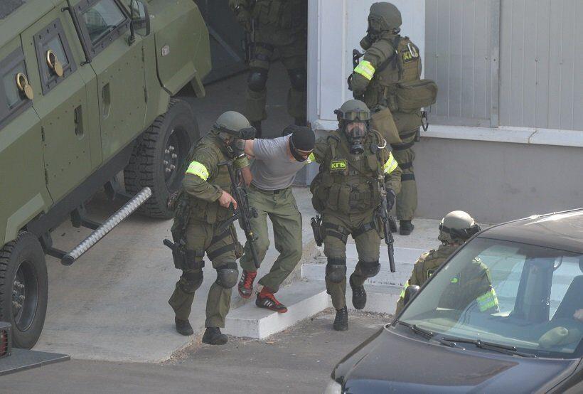 Под Минском проходят состязания спецназа с участием команд из Белоруссии, РФ и Узбекистана