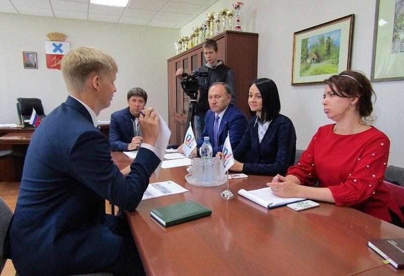 директор департамента молодежной политики Свердловской области, олимпийская чемпионка 2004 года Ольга Глацких