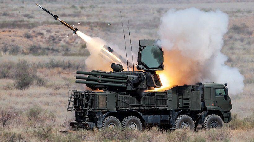 ПВО Панцирь-С1