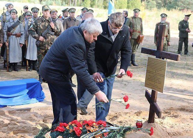 В Белоруссии перезахоронят останки солдат, погибших в Первую мировую войну