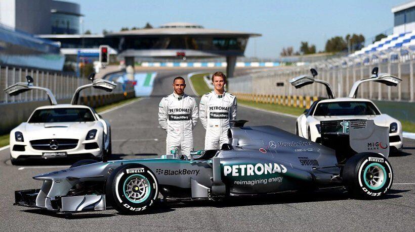 Команда Формулы-1 Мерседес попробует продлить победную серию на Гран-при России