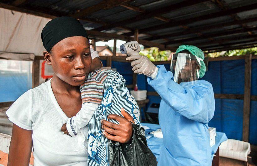Эбола в Африке