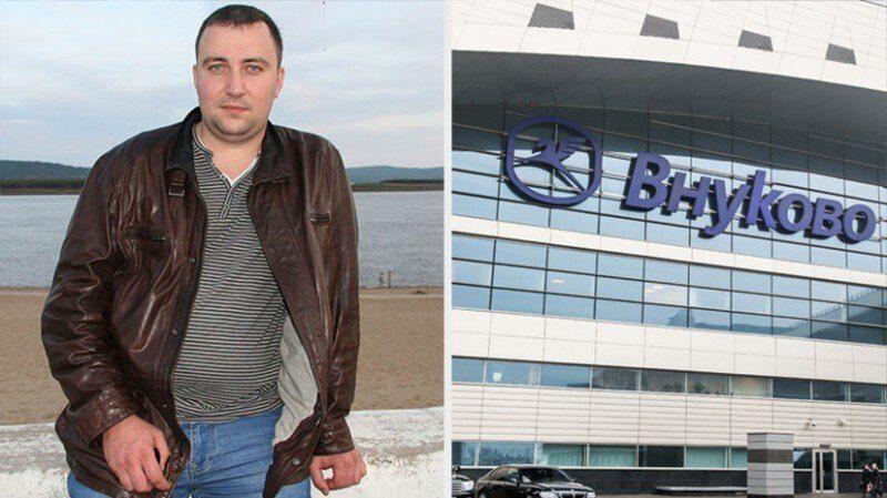 чемоданная мафия в аэропорту Внуково